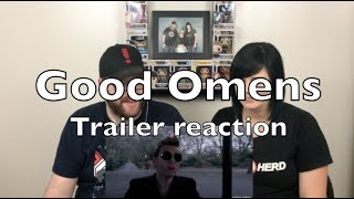 Good Omens - Official Teaser Trailer Reaction