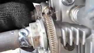 видео Глушитель для 2х тактного лодочного двигателя своими руками
