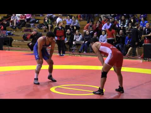 2014 Guelph Open: 57 kg Aso Palani vs. Dan Mitcheff