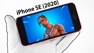 iPhone SE (2020) Unboxing + Gameplay (New Cheapest iPhone)