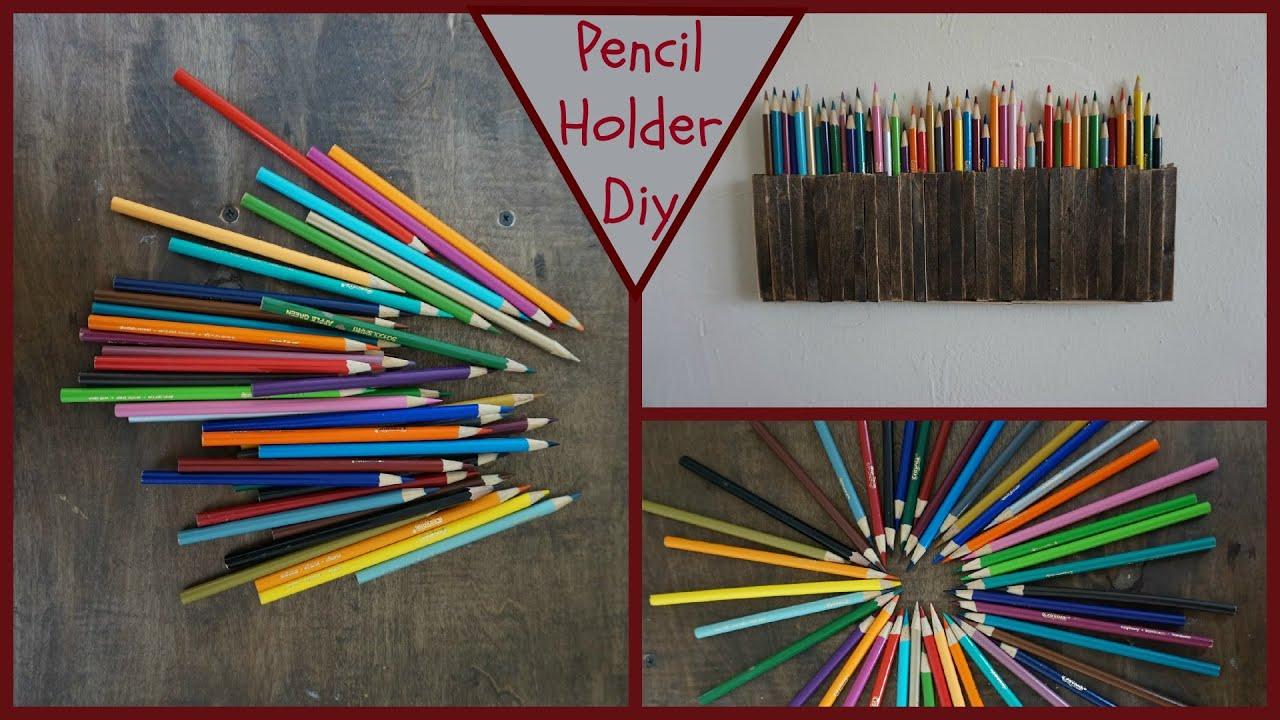 Pen Organizer Diy Pencil Holder Youtube