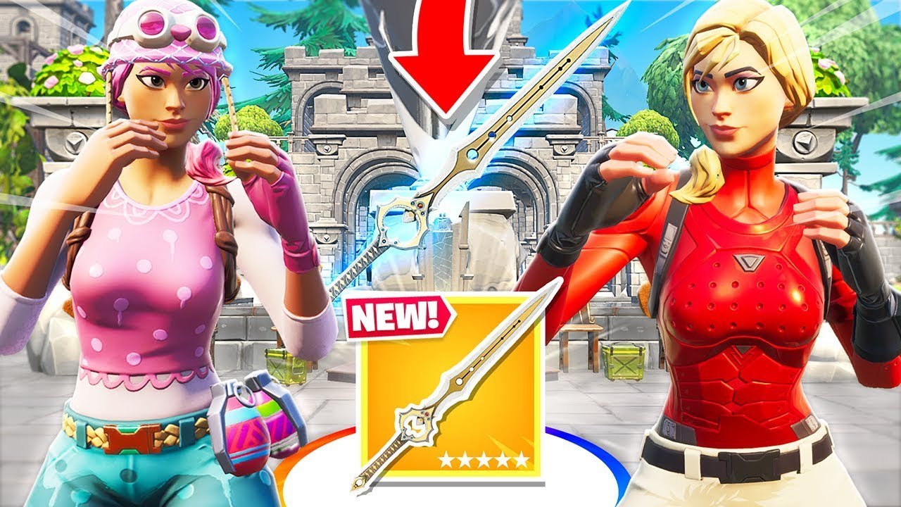 CAPTURE the INFINITY BLADE *NEW* Fortnite Creative Map ...