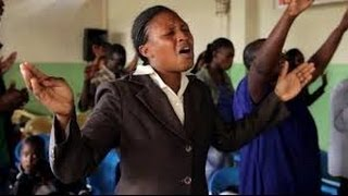 African music in a church from Kenya
