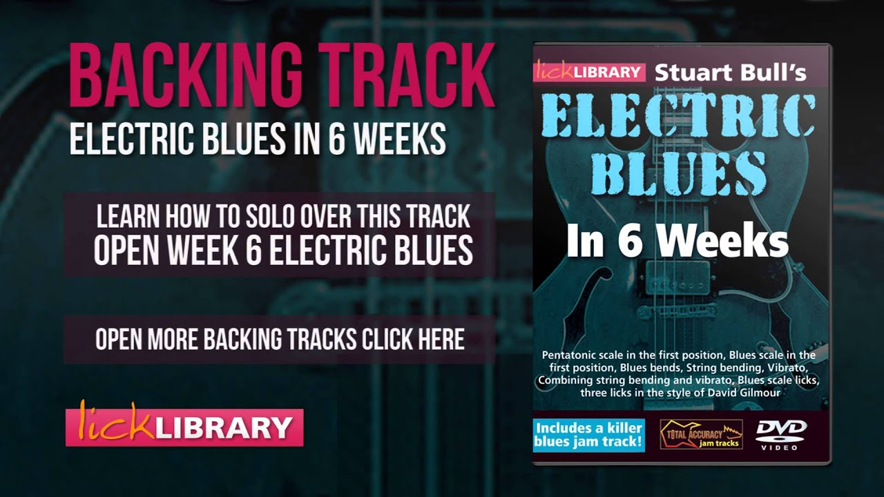 Found site lick library learn to play electric blues guitar with