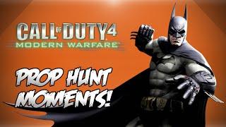 COD4 Prop Hunt! - BATMAN!, SpiderFridge, Selling Out Friends & More! (Funny Moments)