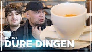 QUCEE en VERAS drinken CRAZY DURE KOFFIE: DURE DINGEN #FIRST