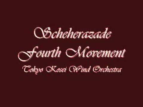 Scheherazade Fourth Movement. Tokyo Kosei Wind Orchestra.