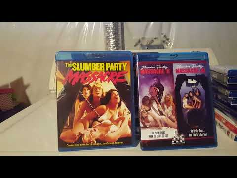 Shout/Scream Factory Blu's