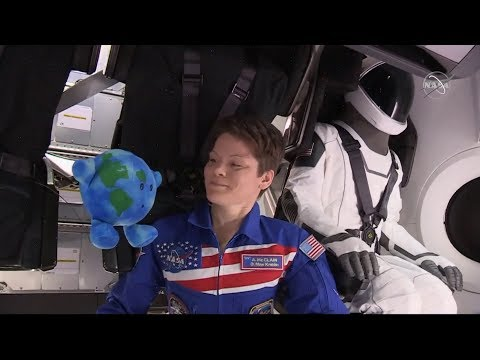 REPLAY: SpaceX Crew Dragon spacecraft arrives at the ISS with Ripley the mannequin (3/3/2019)