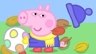 Peppa Pig Episodes in 4K | Peppa's Winter Day! | 12 DAYS OF PEPPA'S CHRISTMAS 🎄