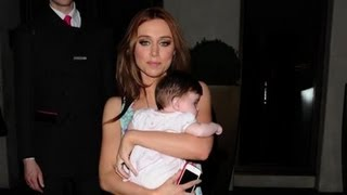 Una Healy's Adorable Baby - Splash News | Splash News TV | Splash News TV