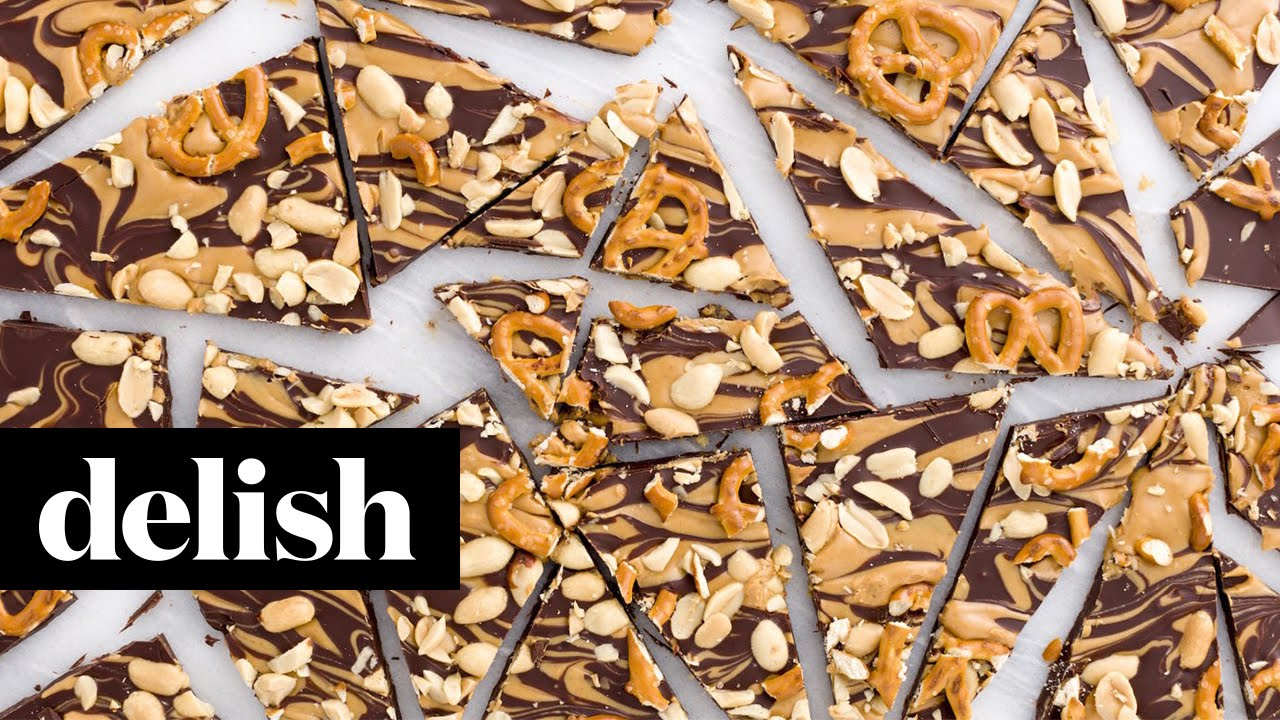 Skinny Chocolate Bark Lets You Have a Flat Belly  Delish