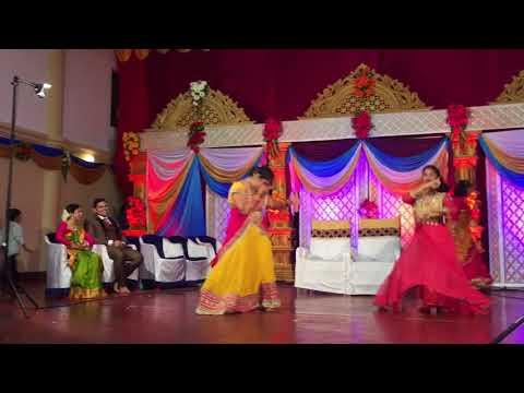 Savitha and stuthi dance