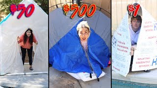 $1 vs $500 SURVIVAL CHALLENGE winner gets $10,000 Challenge!