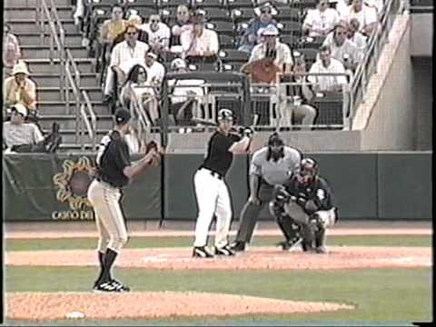2004 San Diego Padres Spring Training - Matt Bruback Pitching