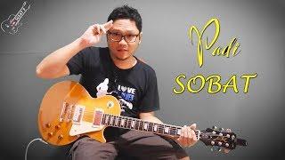Tutorial Gitar Melodi PADI - SOBAT By Sobat P 🎸 With Slow Motion