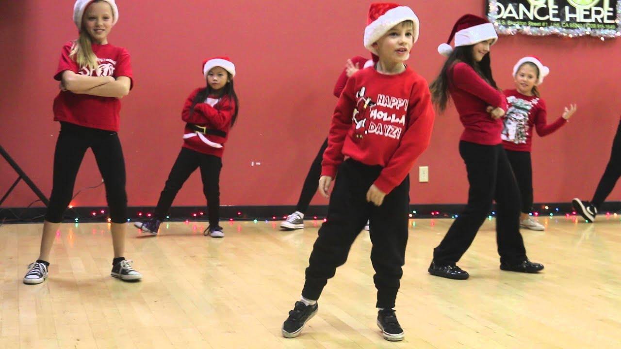 CooperP TV: Hip Hop Jingle Bells by the spot dance crew - YouTube