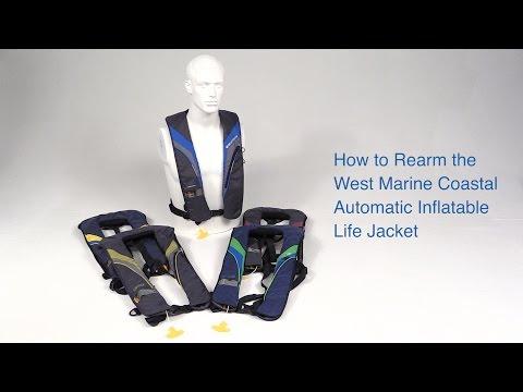 Rearming the West Marine Coastal Inflatable Life Jacket - West Marine Quick Look