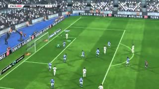 PES 2013+jenkey1002 Gameplay + Matt10 Edits Tottenham vs Everton