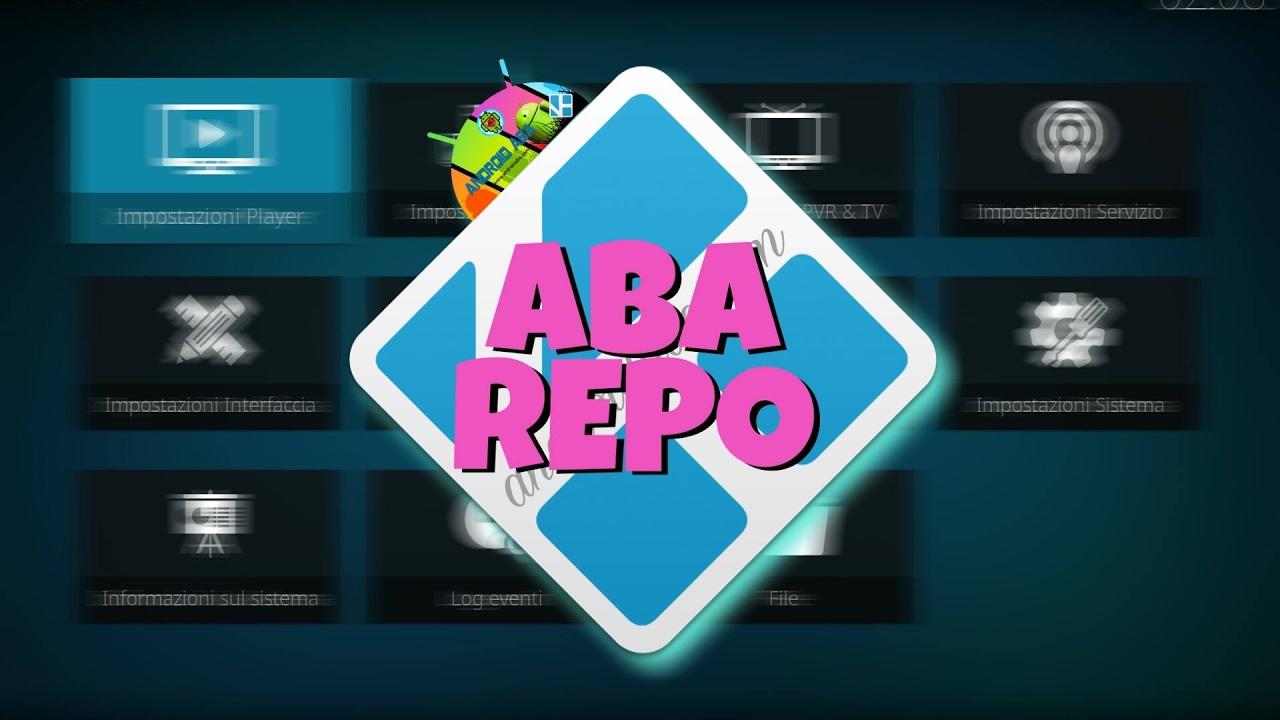 KODI 17: come installare ABA Repo e KodiMod