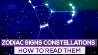 How To Learn The Zodiac Signs Constellations! YouTube Videos