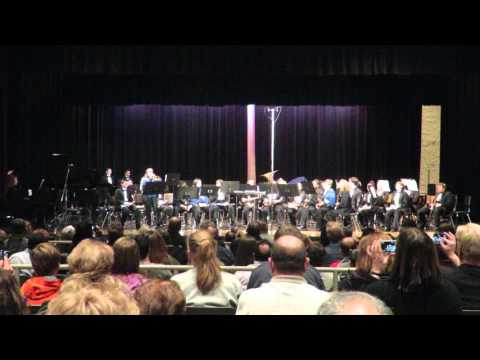 Central Middle School Jazz Band - Lucky Seven