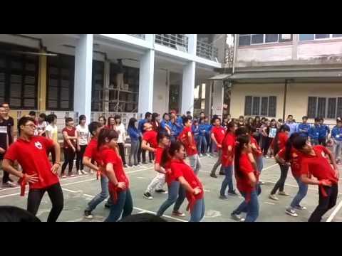 Flashmob Té nước - Dân vũ Thái Lan - Đội Máu Điện lực.