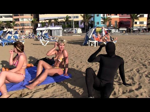 Camara Oculta La Sombra en Playa