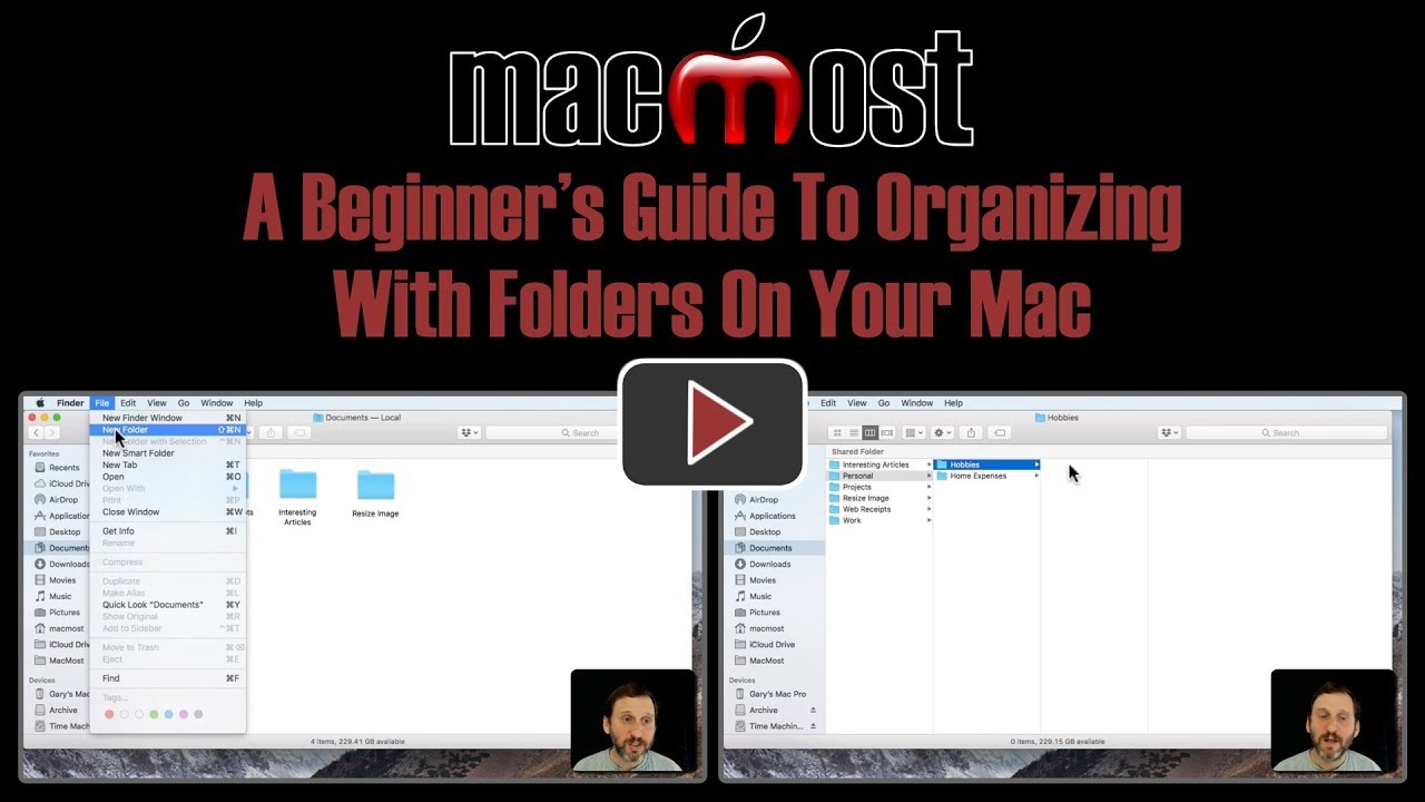 A Beginner's Guide To Organizing With Folders On Your Mac (#1641)