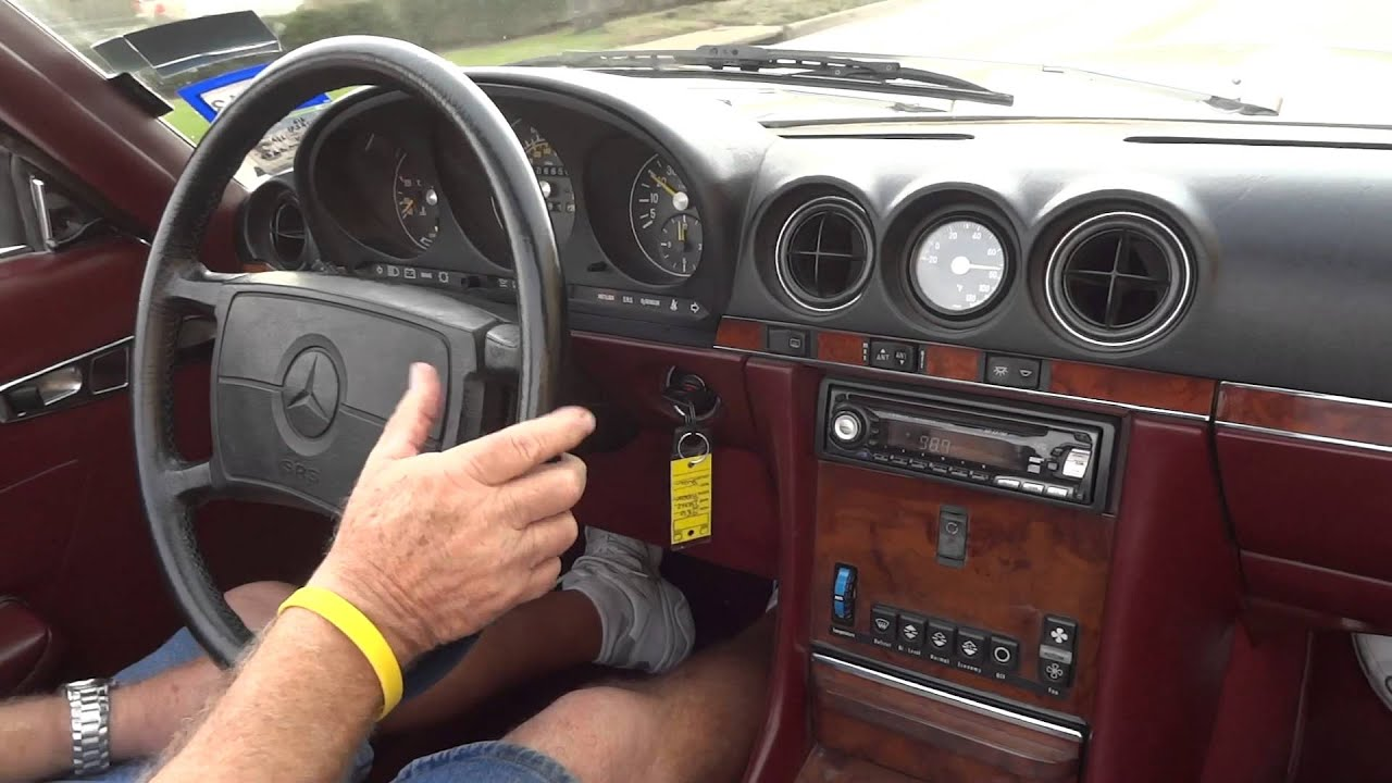 1986 Mercedes Benz 560sl Classic Youtube