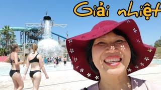 Giải nhiệt công viên nước đẹp ở San Jose (Người Việt ở Mỹ)