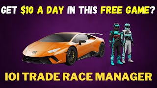 Earn $10 Per Day In This Free Game? IOI Trade Race Manager Play to Earn Game Tutorial Tagalog/ENG screenshot 3