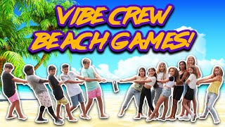 Boys VS Girls Beach Challenges  Vibe Crew