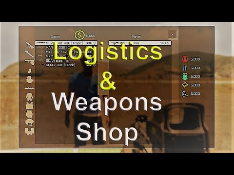 Weapon Shop and logistics made easy with MCC Sandbox ArmA 3
