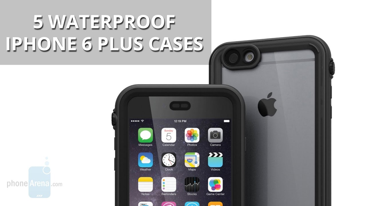 separation shoes 4c30e 2f9f6 5 Awesome And Completely Waterproof iPhone 6 Plus Cases