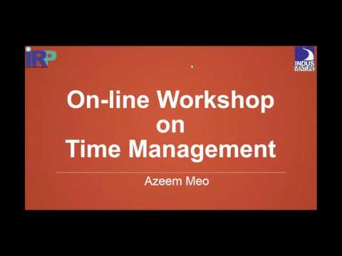 Free On line Session on Time Management