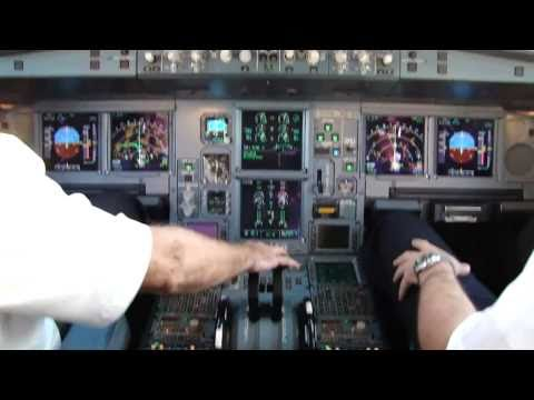 Airbus A330-300 Jet Take Off - Cockpit View