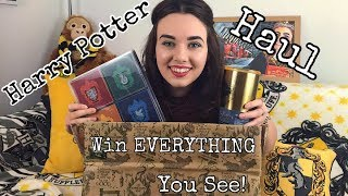 HUGE Harry Potter Haul - WIN EVERYTHING YOU SEE (Including Fun.com and others)