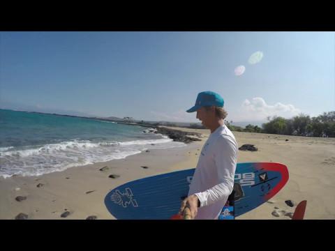 Obra and Abra SUP Foil Surf Mai's