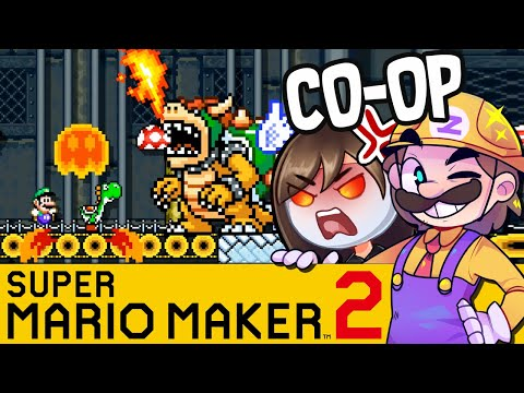 Der Unbesiegbare Bowser | SUPER MARIO MAKER 2 Coop