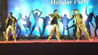 Kumar Shah Dance Performance on ena vina dope shop, angreji beat