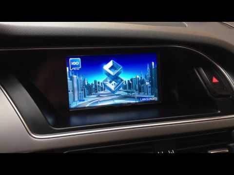 Audi A5 GPS + multimedia interface with Audi Concert radio installed by Cars Equipment team
