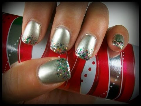 holiday nails 2011 spark-tacular