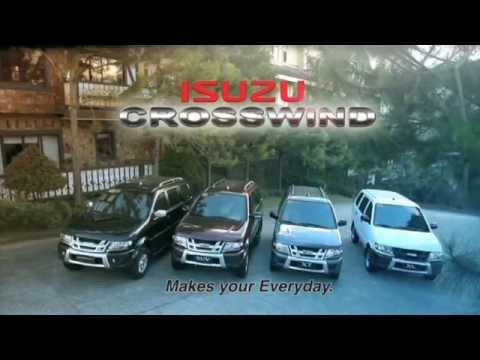 2015 Isuzu Crosswind Launch Video Youtube