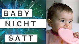 Woran merkt man, dass das Baby beim Stillen nicht satt wird?