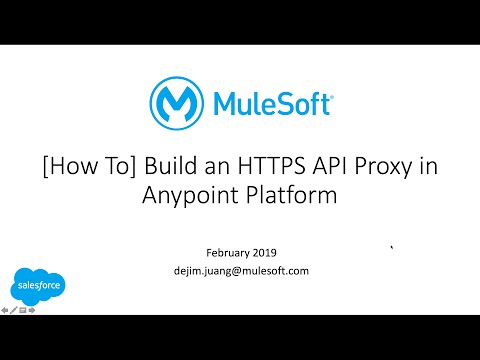 How To - Setup HTTPS Proxy With Anypoint Platform (Q1 2019)