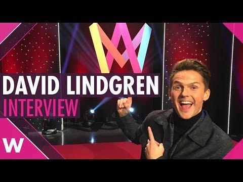 David Lindgren: Melodifestivalen 2018 host (INTERVIEW)