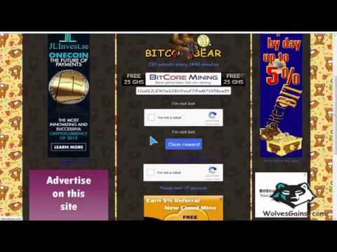 #How_To: Earn Bitcoin From Bitcobear Faucet