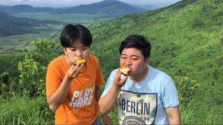 Breakfast on top of Nongmaijing Ching   Meitei Mukbang