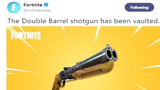 Say Goodbye To Double Barrel In Fortnite..